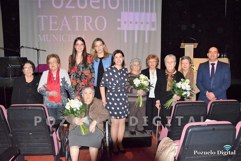 Pozuelo de Calatrava celebró la I Edición de los Premios Magnolia en una emotiva gala con motivo del Día Internacional de la Mujer