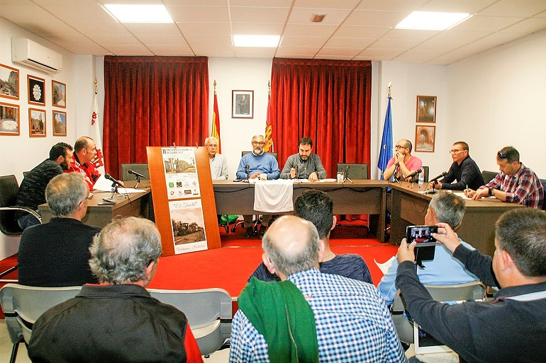 Aldea del Rey Apoyo institucional a la recupación de la Vía Verde El Trenillo