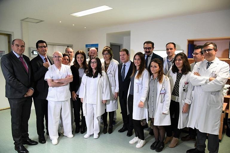 Ciudad Real García-Page inaugura este miércoles un nuevo arco quirúrgico en el Hospital General Universitario