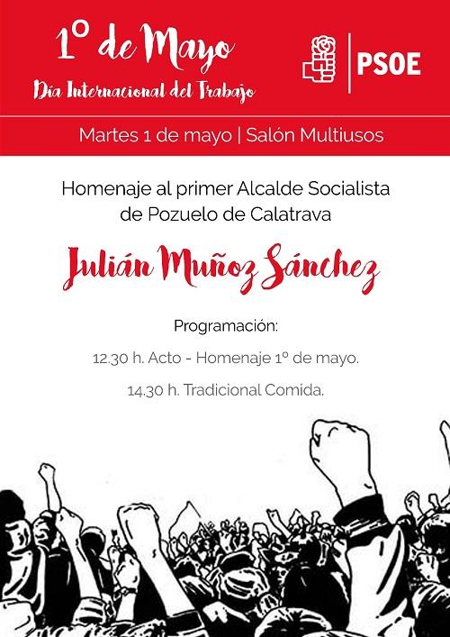 Dia Internacional del Trabajo PSOE Pouelo de Calatrava