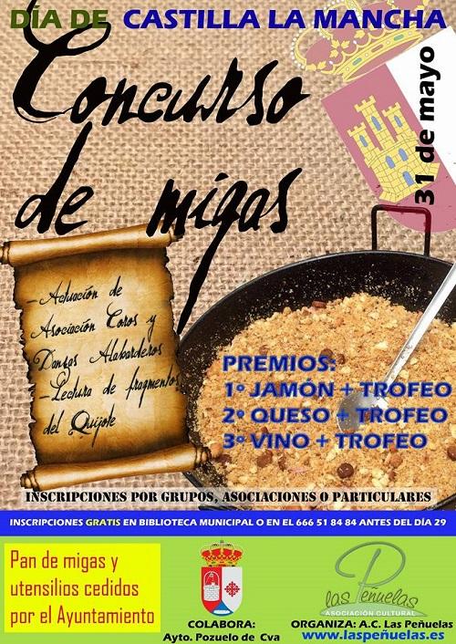 Concurso de Migas, celebrando el Día de Castilla La Mancha en Pozuelo de Calatrava