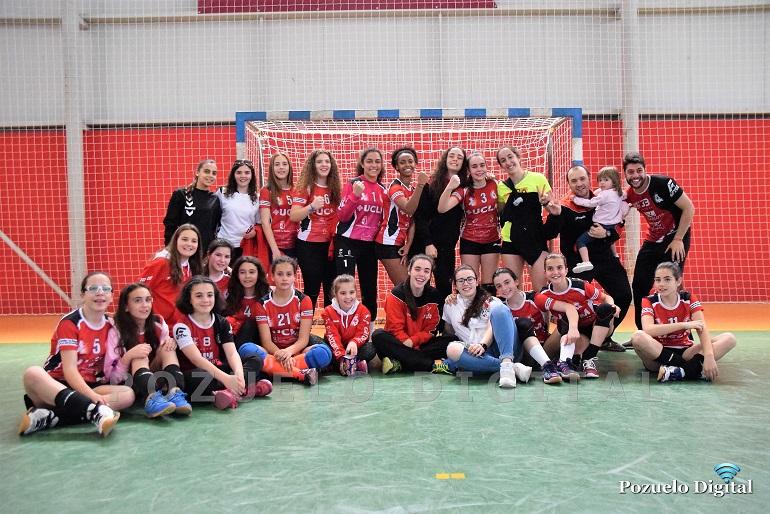 El Soliss BM Pozuelo infantil femenino estará en la fase final nacional tras proclamarse vencedoras del sector en Ceuta