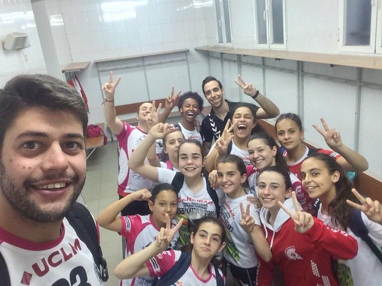El Soliss BM Pozuelo Infantil Femenino ya está en semifinales del Campeonato de España 2018