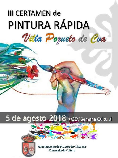 III Certamen Pintura Rapida Villa de Pozuelo de Calatrava 2018