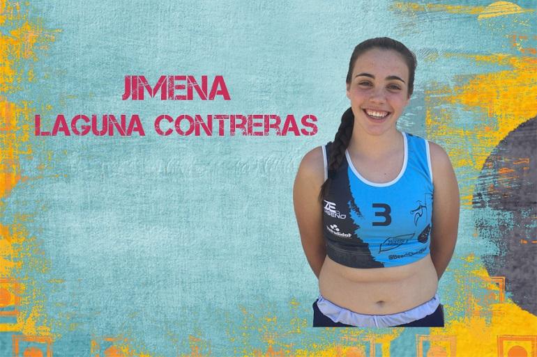 Jimena Laguna convocada con las Guerreras Juveniles de la Arena