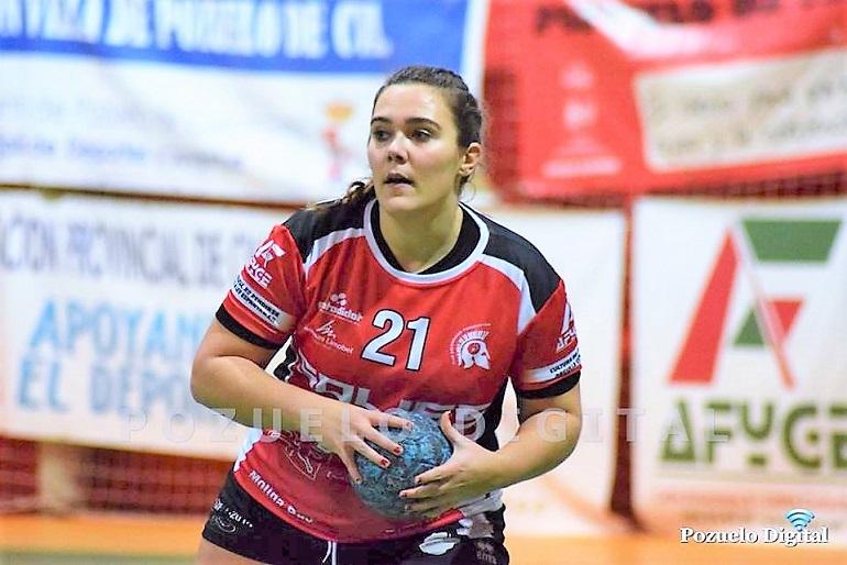 La veterana Alba Bernardino renueva la que será su tercera temporada en las filas del Soliss BM Pozuelo