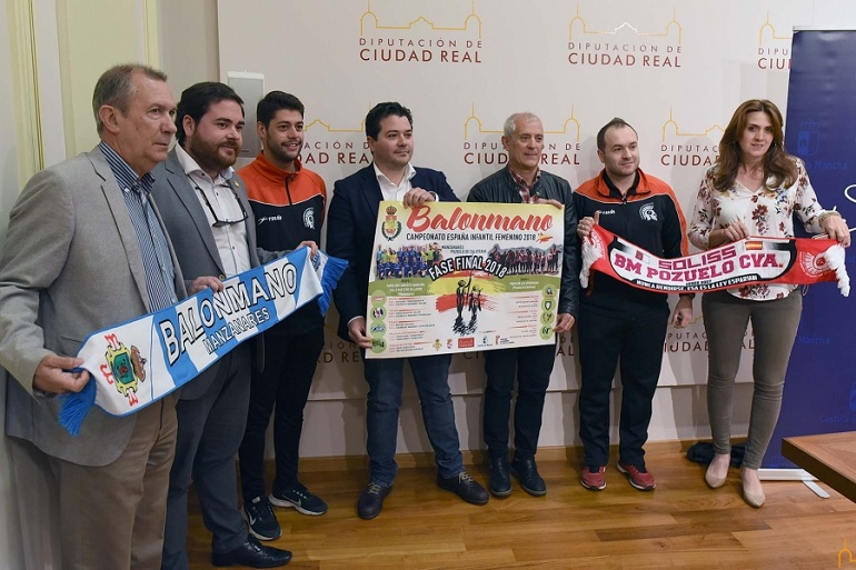 Presentación Fase Final Campeonato de España 2018 de Balonmano Infantil Femenino