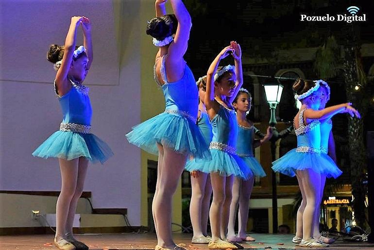 Festival de baile en la Semana Cultural de Pozuelo de Calatrava