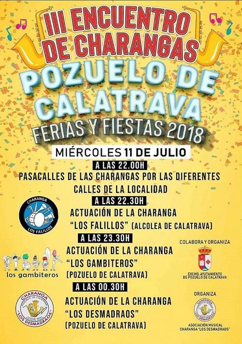 III Encuentro de Charangas en Pozuelo de Calatrava 2018
