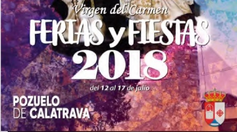 Pozuelo de Calatrava Programación Feria y Fiestas 2018 en honor a la Virgen del Carmen