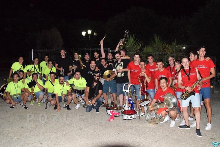 Pozuelo de Calatrava comenzó la feria y fiestas con el III Encuentro de Charangas