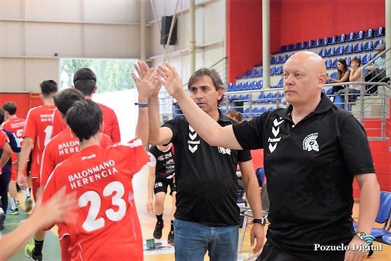 Carlos Martínez y Carmelo Chacón