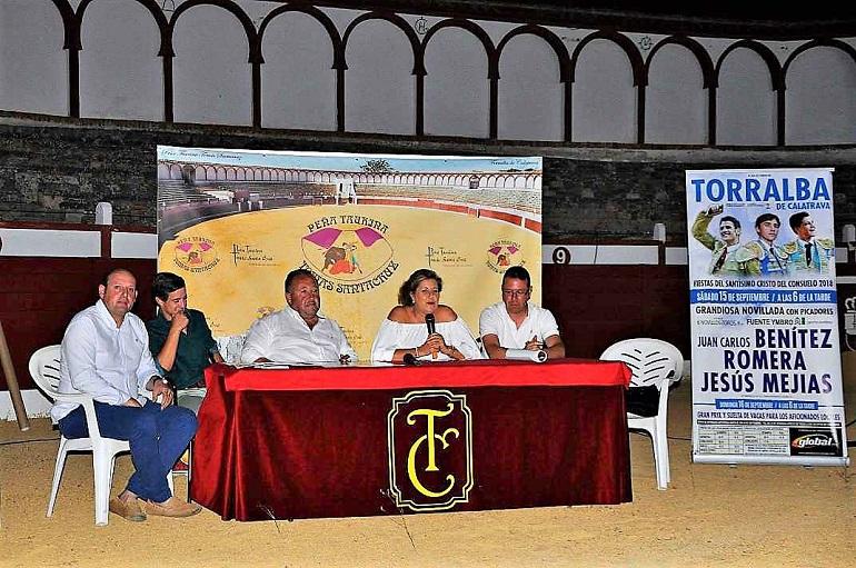 Torralba de Calatrava Juan Carlos Benitez, Romera y Jesus Megias, conformarán el cartel taurino de las fiestas del Cristo