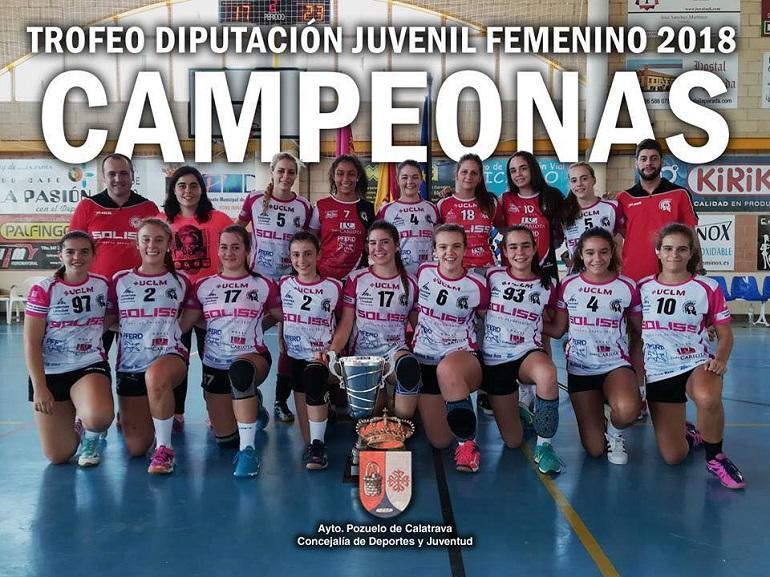 Campeonas Trofeo Diputación 2018