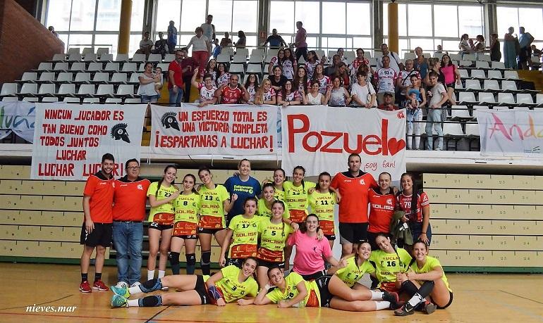 El Soliss BM Pozuelo suma sus dos primeros puntos en liga tras vencer en Málaga por 21-26