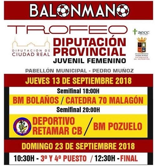 Final Trofeo Diputación BM juvenil femenino