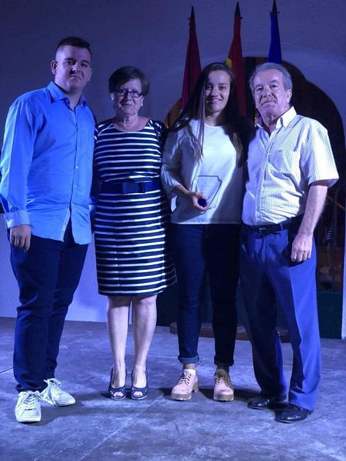 Noelia Delfa distinguida como mejor jugadora senior femenino en la Gala del Balonmano de Castilla La Mancha 2018