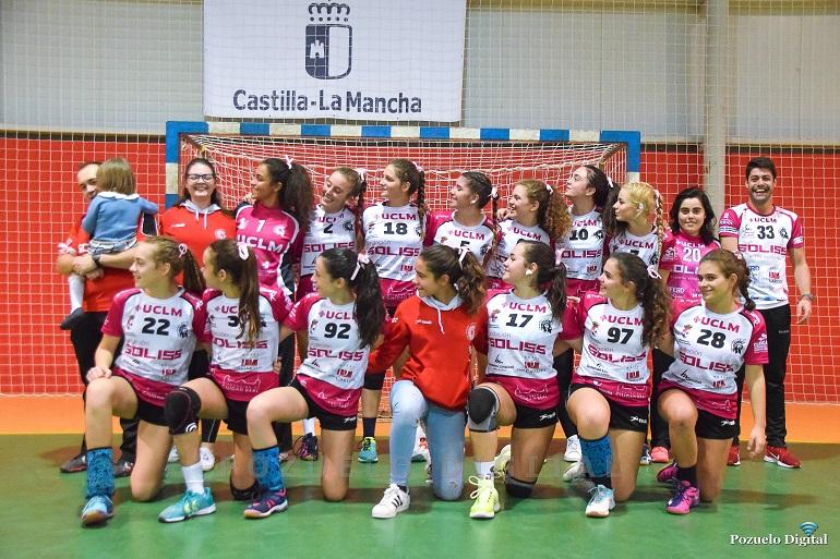 El Soliss BM Pozuelo Juvenil Femenino vence al Cátedra 70 en su primer partido liguero en casa