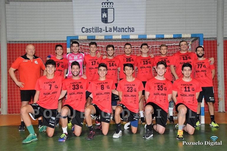 El Soliss BM Pozuelo senior masculino comienza la temporada con victoria y liderando la segunda división territorial