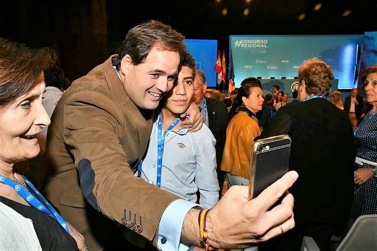 Francisco Núñez proclamado nuevo presidente del Partido Popular de Castilla-La Mancha