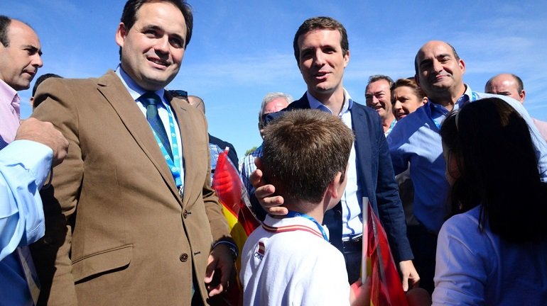Los Populares de Pozuelo de Calatrava estuvieron presente en el XIV Congreso Regional del PP donde se eligió a Francisco Núñez como presidente regional