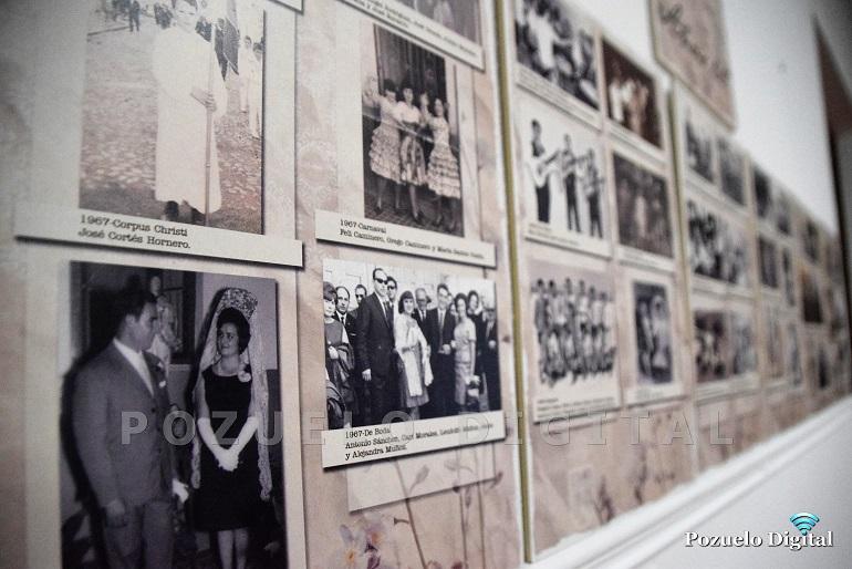 Pozuelo de Calatrava La exposición fotográfica Una mirada a tiempos de antaño y la pintura de Alicia Madroñero inauguran la programación cultural de octubre