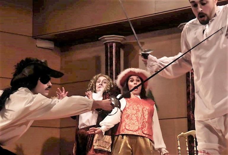 Pozuelo de Calatrava pone en escena a Molière y su obra El Burgués Gentilhombre de la mano de la Compañía de Teatro La Fragua de los Sueños