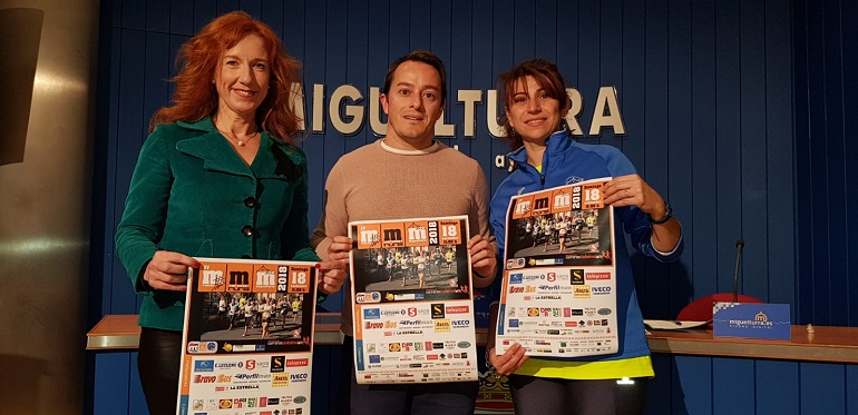 Miguelturra Presentada la Media Maratón bajo el lema Correr nos hace iguales