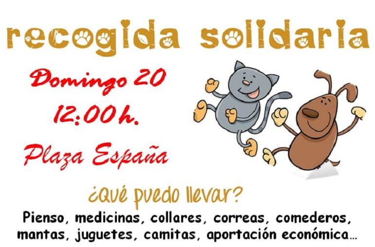 Juventudes Socialistas de Pozuelo de Calatrava organizan este domingo una recogida solidaria en ayuda de los animales