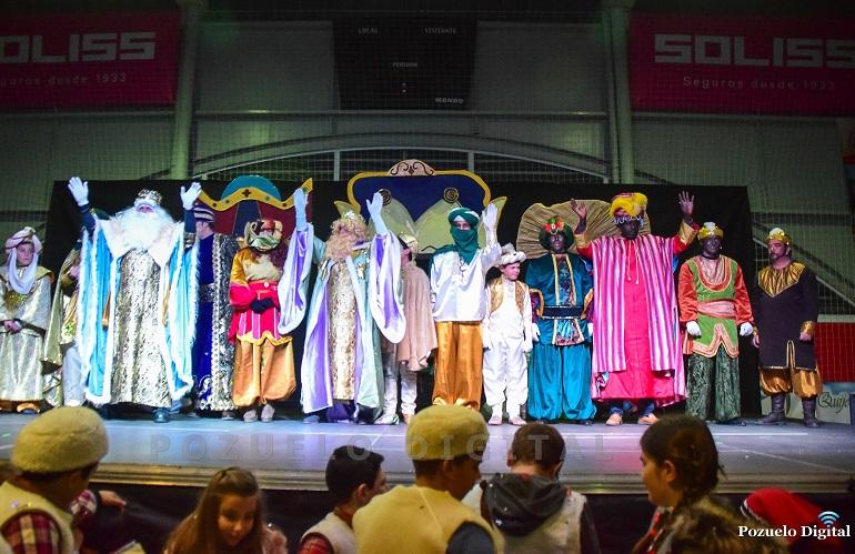 SSMM Los Reyes Magos de Oriente llenaron de magia y de ilusión la noche de Pozuelo de Calatrava