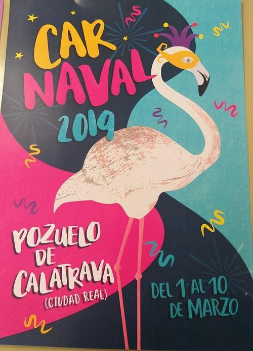 Cartel Carnaval 2019 de Pozuelo Cva