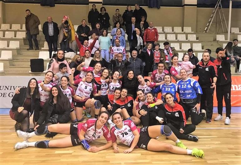 El Soliss BM Pozuelo vence al Granada en su feudo y empata a puntos con el segundo clasificado, el BM Bolaños