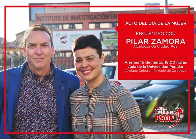 Pozuelo de Calatrava Encuentro con Pilar Zamora