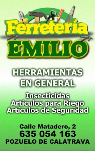 Ferretería EMILIO - Calle Matadero, 2 - POZUELO DE CALATRAVA