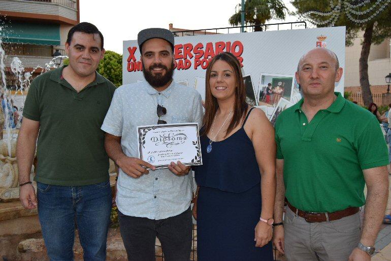 Pozuelo de Calatrava El miguelturreño Álvaro Molina gana el Concurso de logotipo de la Universidad Popular