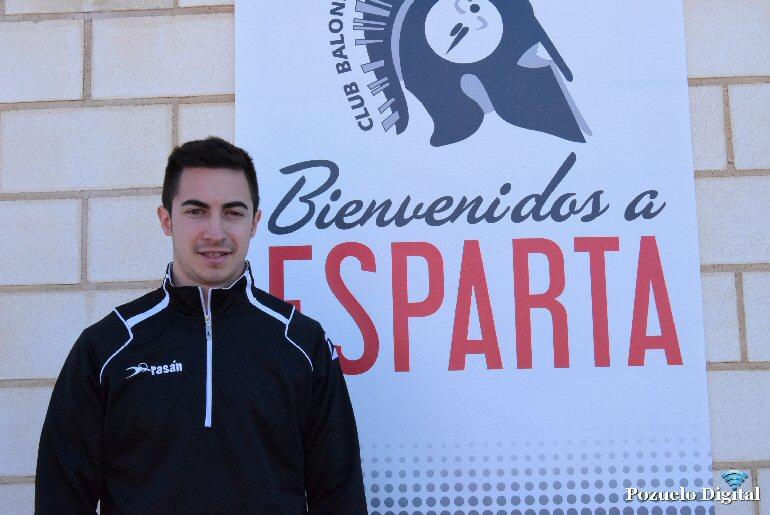 entrenador del Aceuchal Juan Pedro Moreno