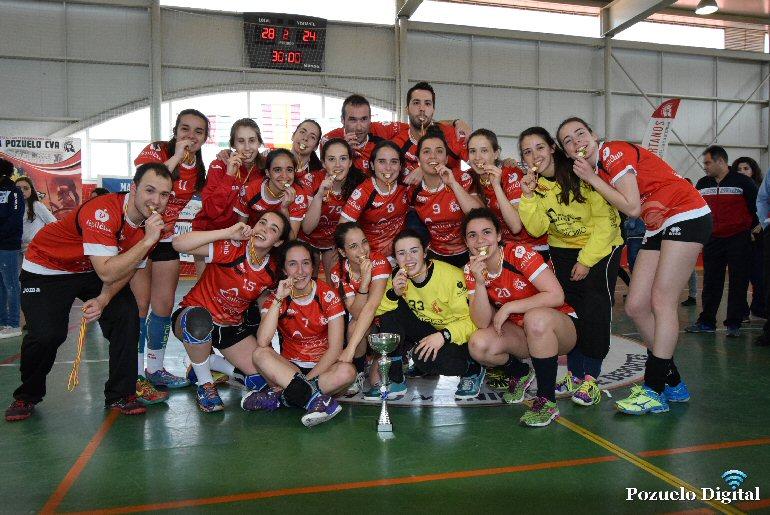 Pozuelo de Calatrava Las Espartanas viajan hasta Sagunto para la fase final del Campeonato de España de Balonmano Juvenil Femenino