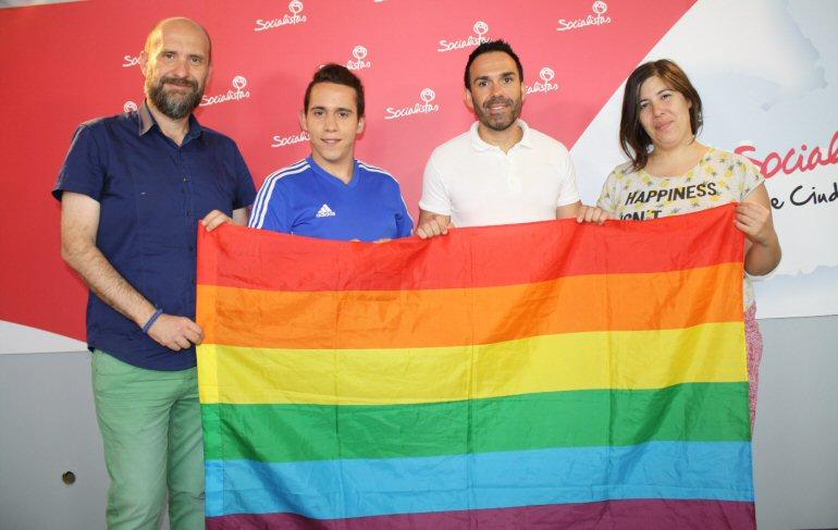 Ciudad Real El LGTBI del PSOE de Castilla-La Mancha y la nueva asociación LGTBQ aunan esfuerzos en la lucha contra la homofobia
