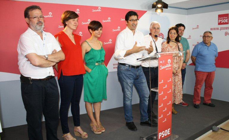 Ciudad Real José Manuel Caballero valora el resultado obtenido por el PSOE el pasado domingo en las elecciones generales
