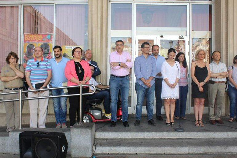 Ciudad Real Minuto de silencio en memoria de las víctimas de Estambul