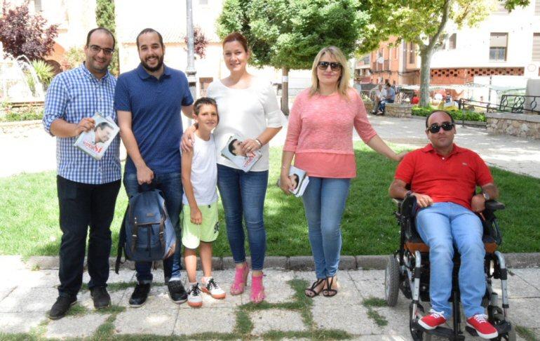 Pozuelo de Calatrava El PSOE apura las últimas horas de campaña para pedir que nadie se quede en casa este domingo y acuda a votar