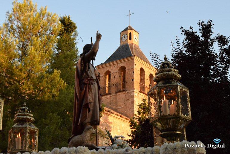 Pozuelo de Calatrava celebró la festividad de su patrón San Juan Bautista