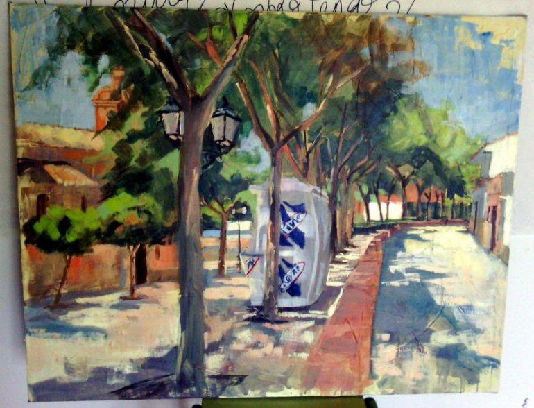 Torralba de Calatrava celebra este sábado el IV Certámen de Pintura Rápida