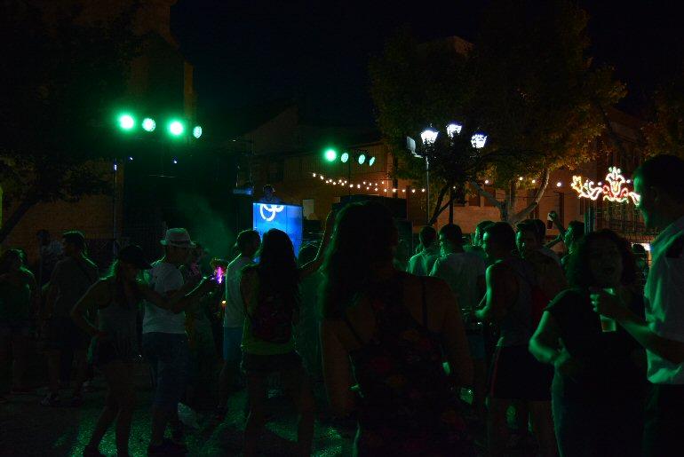 Pozuelo de Calatrava, Bailes Feria y Fiestas Virgen del Carmen