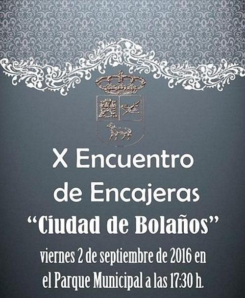 Bolaños celebra este sábado su X Encuentro de Encajeras