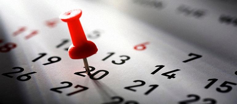 Calendario laboral para el 2017 en Castilla La Mancha