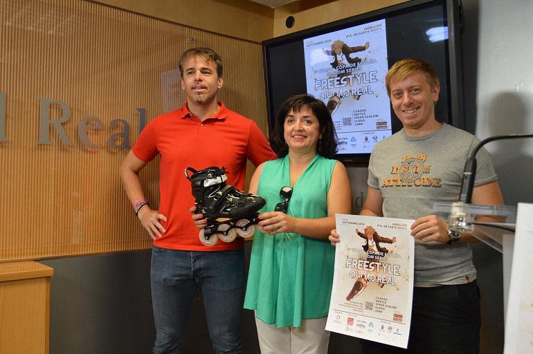 Ciudad Real celebra este fin de semana la Copa de España de Patinaje Freestyle