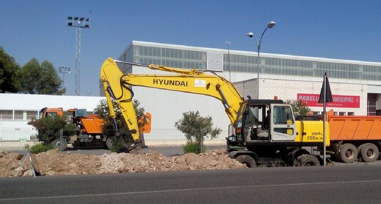 Pozuelo de Calatrava Unión Fenosa está llevando a cabo obras de mejora en la línea electrica para mejorar la calidad del servicio