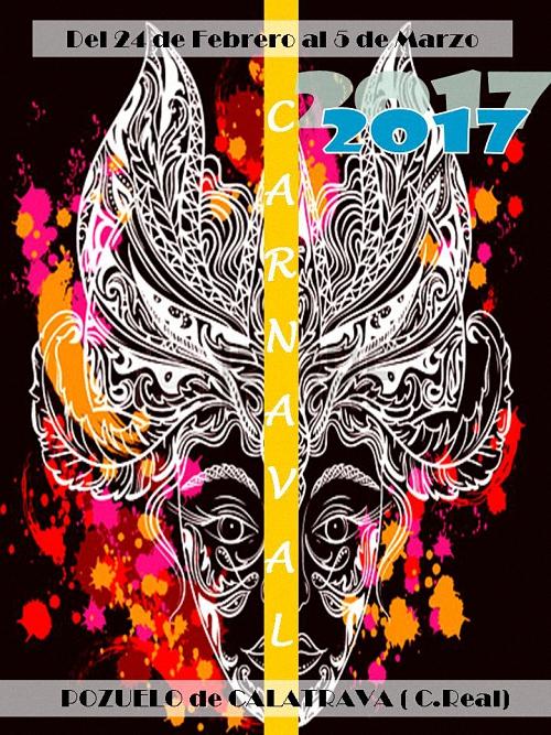 El Carnaval de Pozuelo de Calatrava 2017 ya tiene cartel anunciador