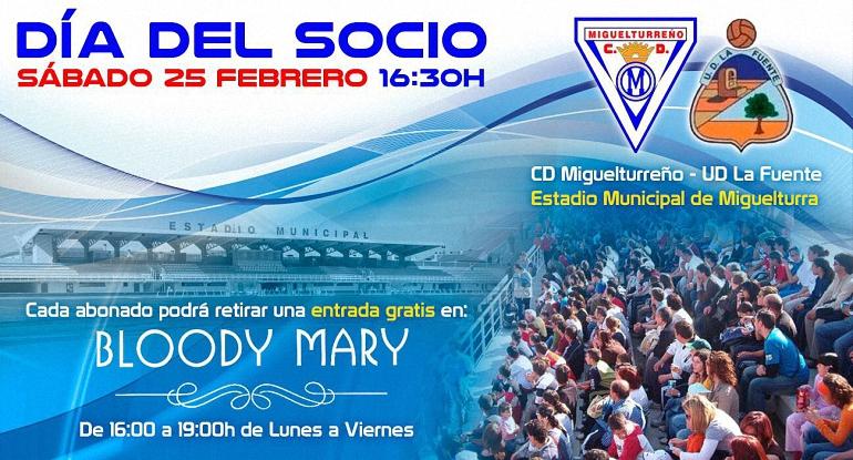 Miguelturreño CF Dia del Socio